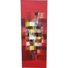 Handgemaltes Ölgemälde - 120 x 45 cm Joshita