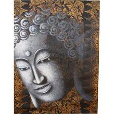 "Handgemaltes Gemälde ""Buddha"" - 120 x 90 cm"