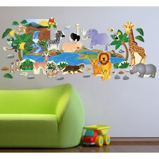 Peel and Play Jungle Plus Wall Decal