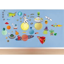 Space/Alien Wall Decal Set
