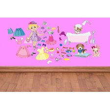 <strong>Mona Melisa Designs</strong> Peel and Play Doll/Pet Wall Decal