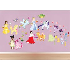 <strong>Mona Melisa Designs</strong> Peel and Play Pony/Princess Wall Decal