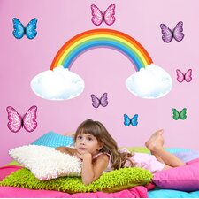 Really Big Rainbow Wall Decal Set