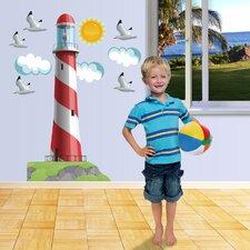 Really Big Lighthouse Wall Decal Set