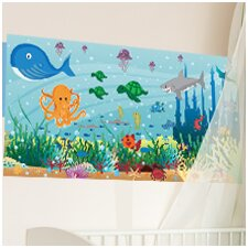 Ocean Girl Wall Mural