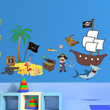 Pirate Accessory Wall Decal Set