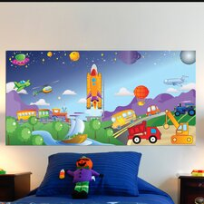 Cars/Trucks Wall Mural