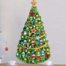 Peel and Play Christmas Tree Wall Decal