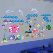Ocean Girl Wall Decal Set