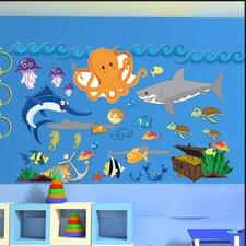 Peel and Play Ocean Boy Wall Decal
