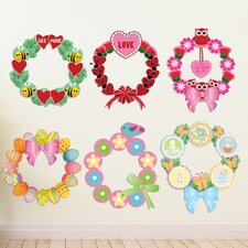 Peel and Play Holiday Valentines Day/Easter Wall Decal