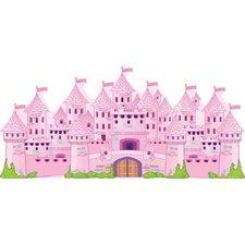 Really Big Princess Castle Wall Decal Set