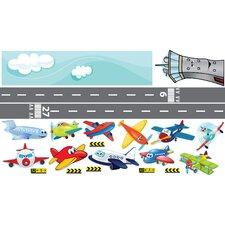 Airplanes Interactive Wall Play Set