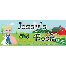 Farm Boy Name Sign