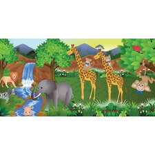 Giraffe Boy Wall Mural