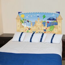 Peel and Stick Beach Boy Panel Headboard