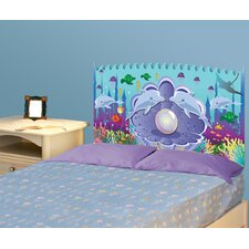 Peel and Stick Ocean Girl Panel Headboard