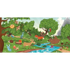 Forest Girl Wall Mural
