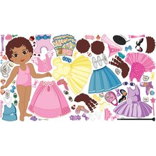 Peel and Play Doll Curly Wall Play Set