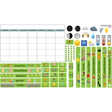 Peel and Learn Calendar Wall Stickers