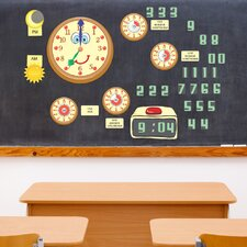 Peel and Learn Time Wall Decal