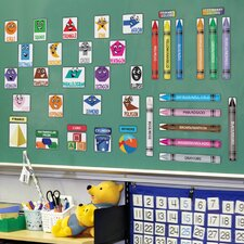 Peel and Learn Colors & Shapes Wall Decal