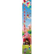 Classic Circus Personalized Growth Chart