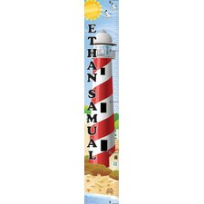 Nautical Boy Personalized Growth Chart
