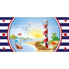 Nautical Boy Wall Mural