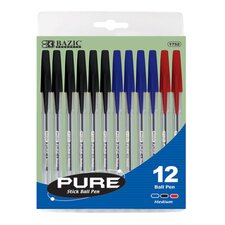 Pure Stick Pen (Set of 12)