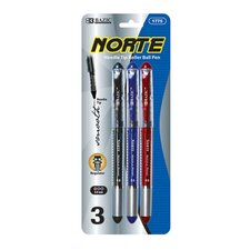 Norte Needle-Tip Rollerball Pen (Set of 3)