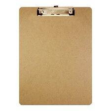 <strong>Bazic</strong> Standard Size Hardboard Clipboard (Set of 24)