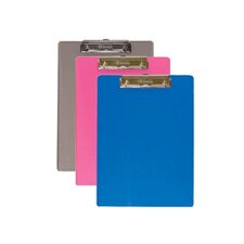 Standard Size Plastic Clipboard (Set of 48)