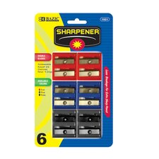 Dual Blades Square Sharpener (Set of 6)