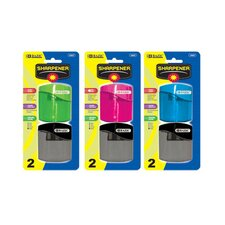 Dual Blades Sharpener with Square Receptacle (Set of 2) (Set of 2)