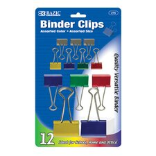 Binder Clip (Set of 12)