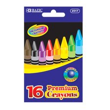 16 Color Premium Quality Crayon Set