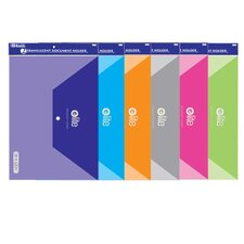 <strong>Bazic</strong> Clear Letter Size Document Holders (Set of 2)