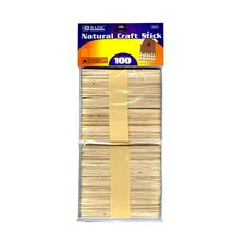 Craft Sticks (Set of 100)