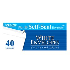 40 Ct. Self-Seal Envelopes (Set of 24)