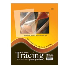 Tracing Paper Pad (Set of 48)