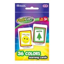 Colors Preschool Flash Cards