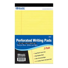 Jr. Perforated Writing Pad (Set of 24)