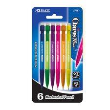 Mini Claris 0.7mm Mechanical Pencil (Set of 6) (Set of 6)