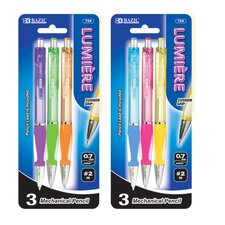 Lumiere 0.7 mm Mechanical Pencil with Grip (Set of 3) (Set of 3)