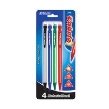 Cabrio 0.7 mm Triangle Mechanical Pencil (Set of 4) (Set of 4)