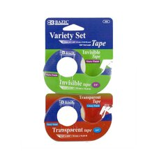 Invisible and Transparent Tape Variety Set (Set of 2)