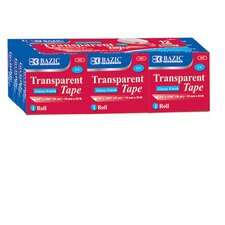Transparent Tape Refill (Set of 12)