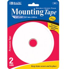 <strong>Bazic</strong> Double Sided Foam Mounting Tape