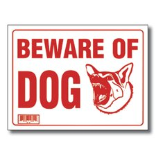 Beware of Dog Sign (Set of 24)